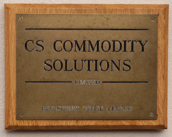 Commodity Solutions, Wiltshire